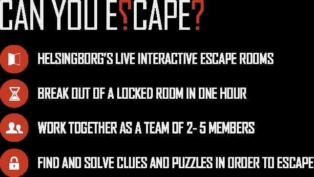 escape room helsingborg